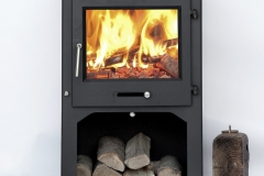 Ottawa Square 12 KW with Log Stand